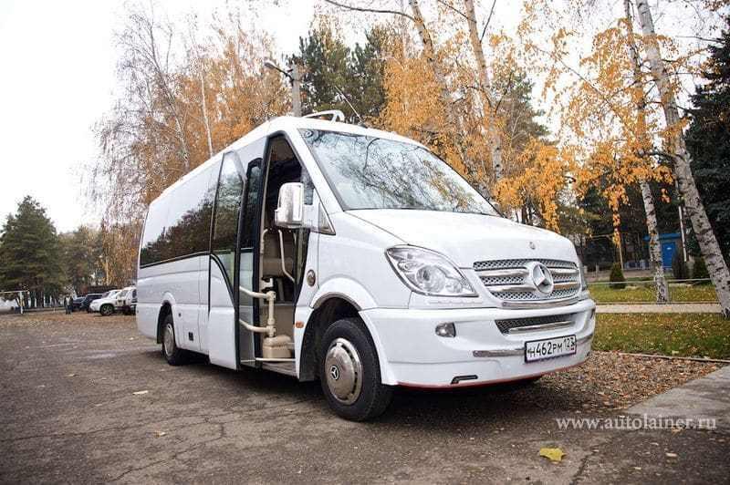 Mercedes Sprinter VIP (20 мест)