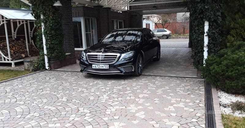 Mercedes S-класс W222